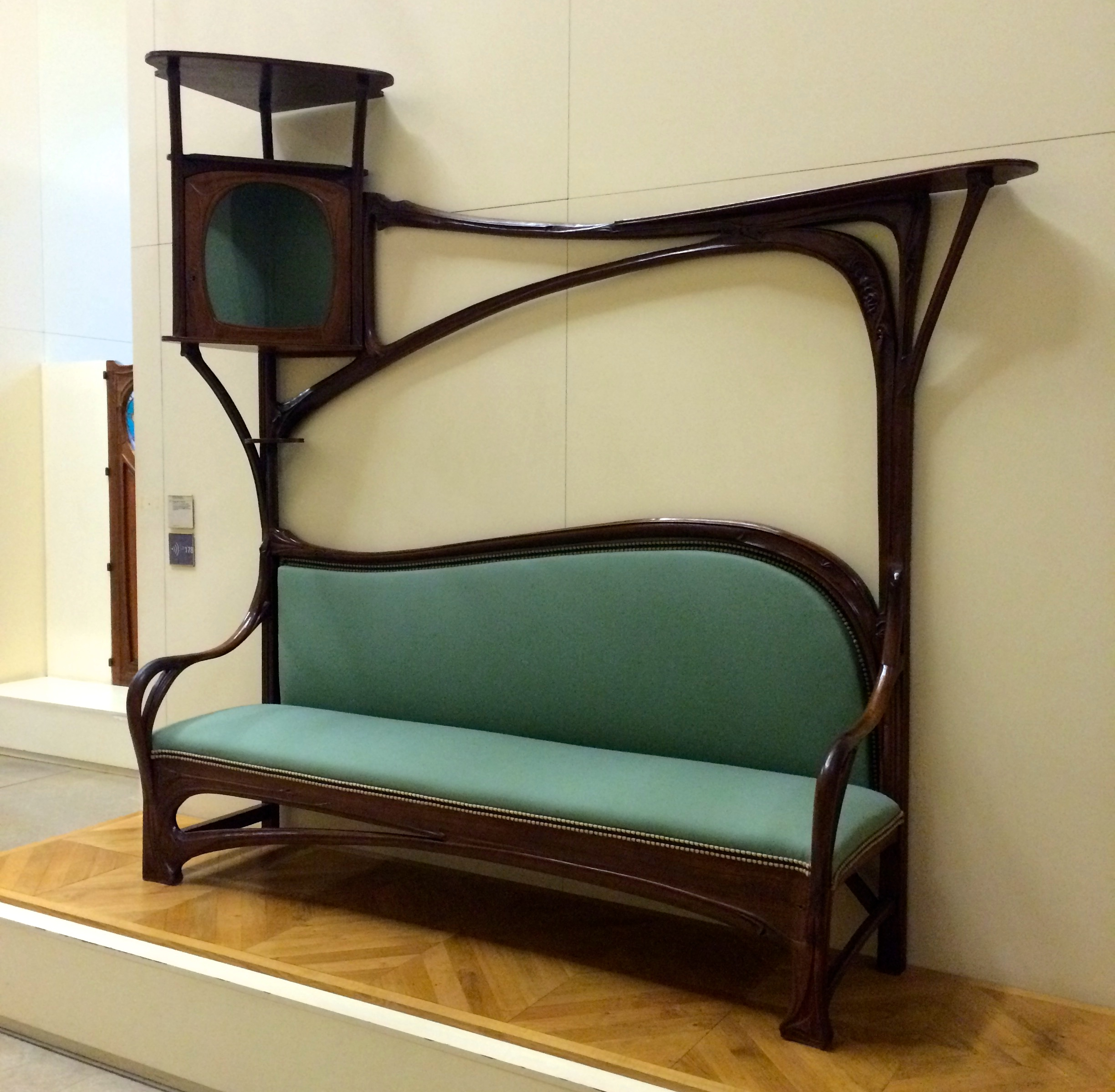 The museum's Art Nouveau furniture collection is always inspirational.