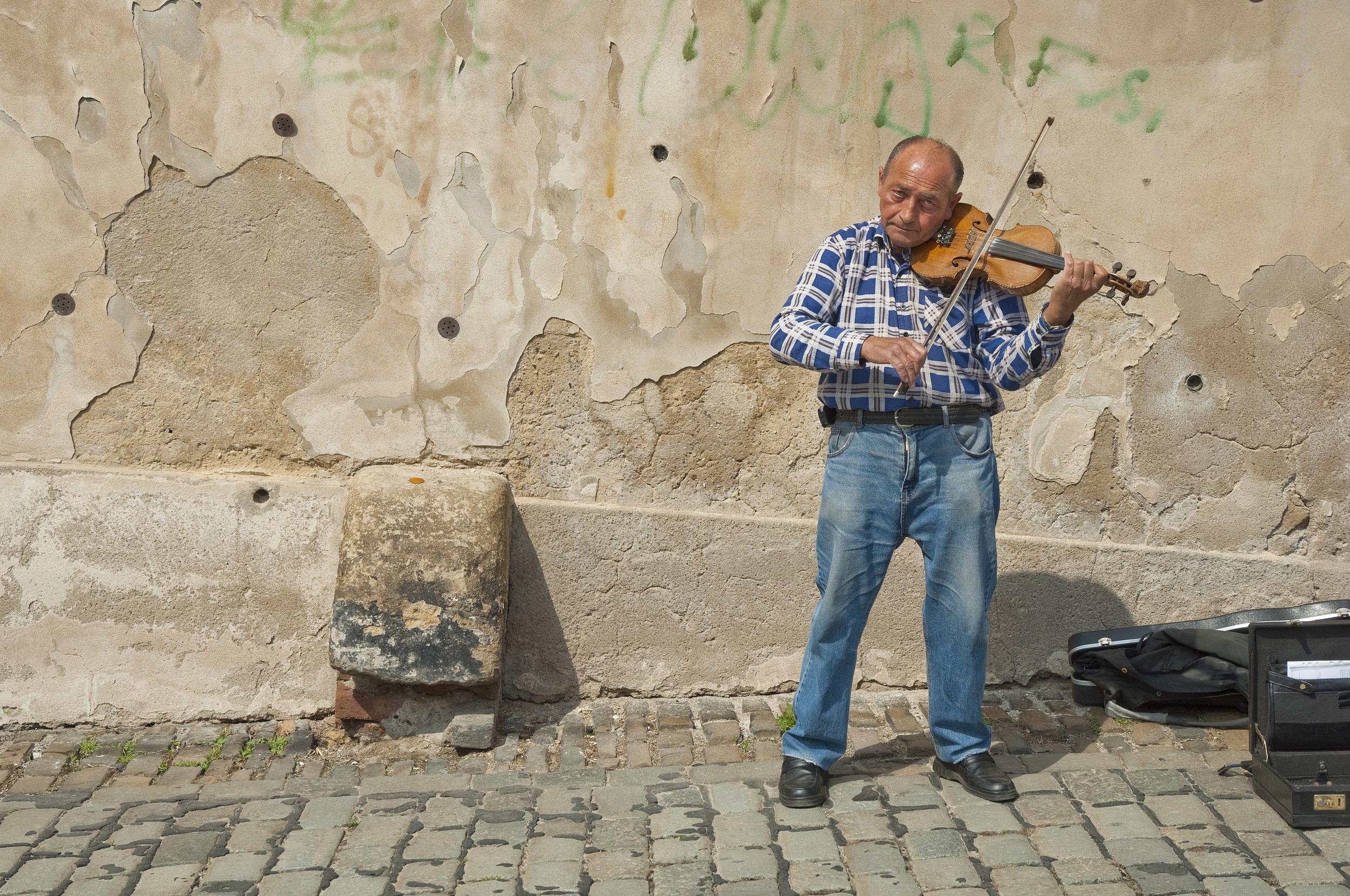 Street performer / Prague 2010