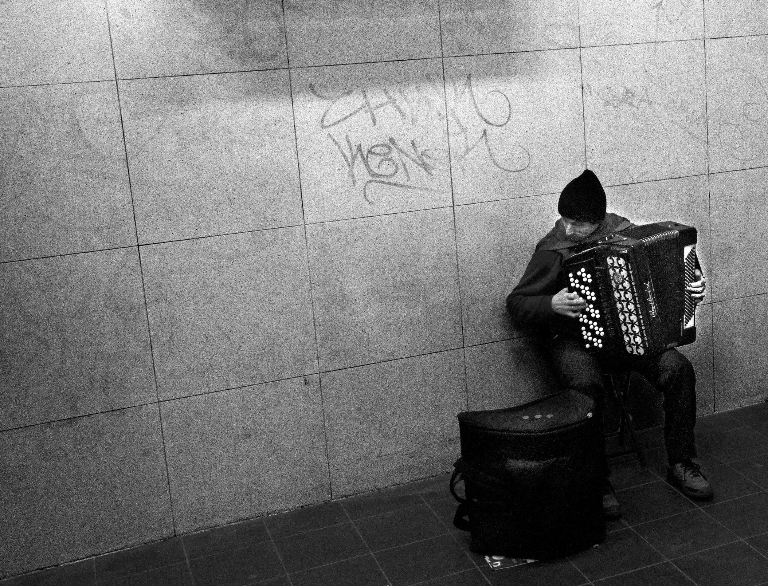 U-Bahn Musician / Berlin 2010
