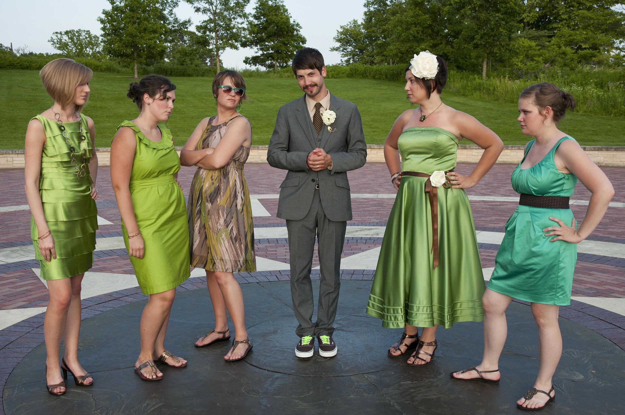 Adam and the Bridesmaids