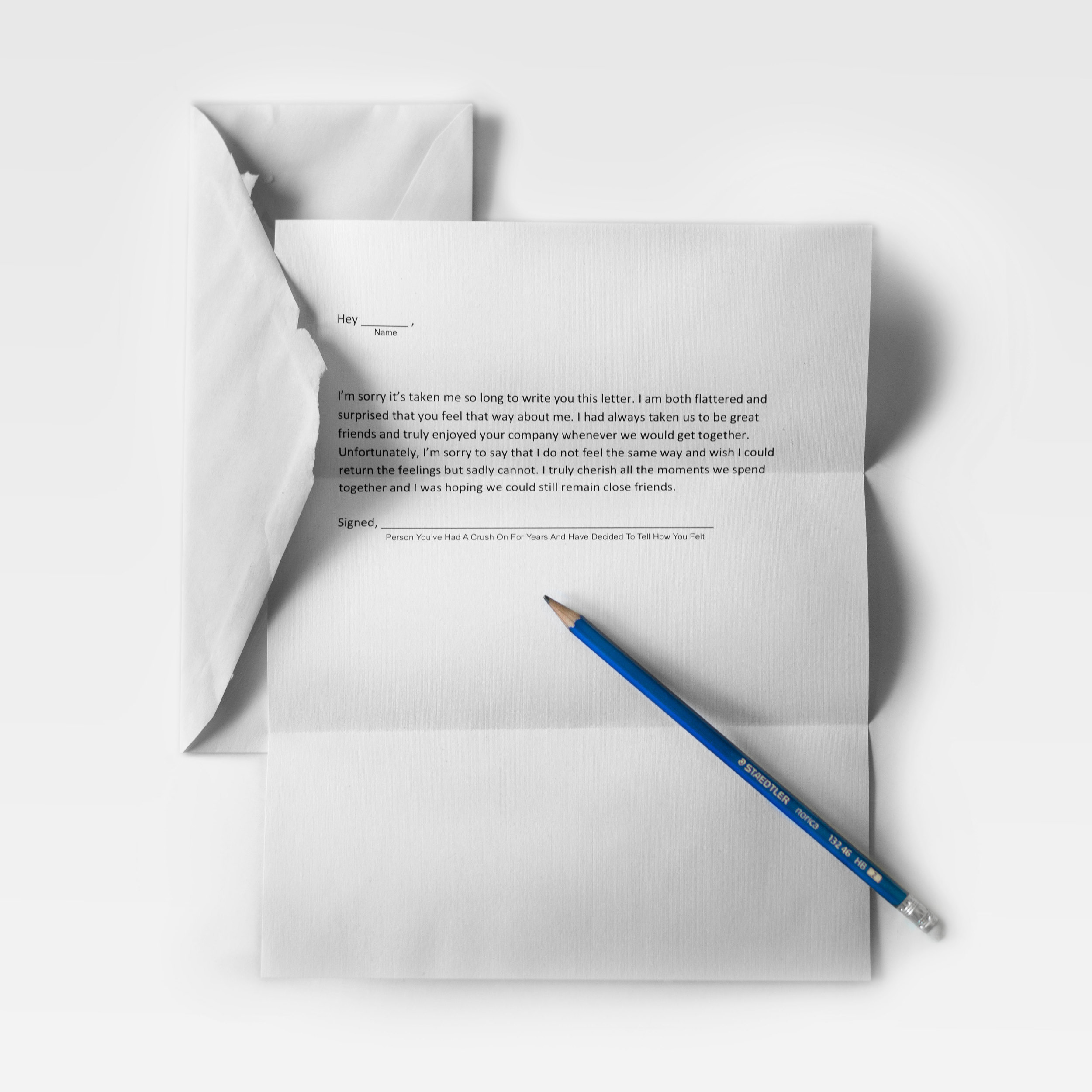 Rejection Letter 01, Laser Print, edition of 25, 2016  Courtesy of the artist.