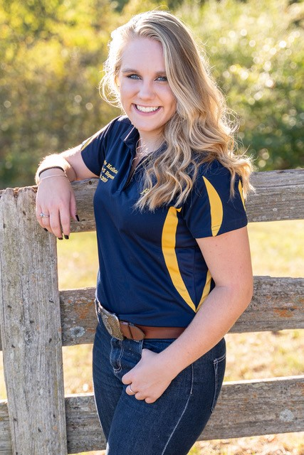 "- Skylar Kellstadt is the daughter of Steve and Tina Kellstadt. She is a graduate of Brimfield High School and plans to attend Western Illinois University this fall pursing a degree in Ag Science/Animal Science with a minor in Communications.She has been involved in the Brimfield FFA four years and her local 4-H Club serving in several leadership roles in both organizations.On the family farm, Skylar has raised Polled Hereford/Angus Beef Cattle and has started owning her own herd in the last few years. She has shown them at a variety of county and state level livestock shows.Skylar states ""I hope to be able to inform and teach others about specific areas of agriculture as well as agriculture as a whole. I wish that everyone had the opportunity to be involved in agriculture in some way just so that they could truly see how amazing and important it is and always will be."""