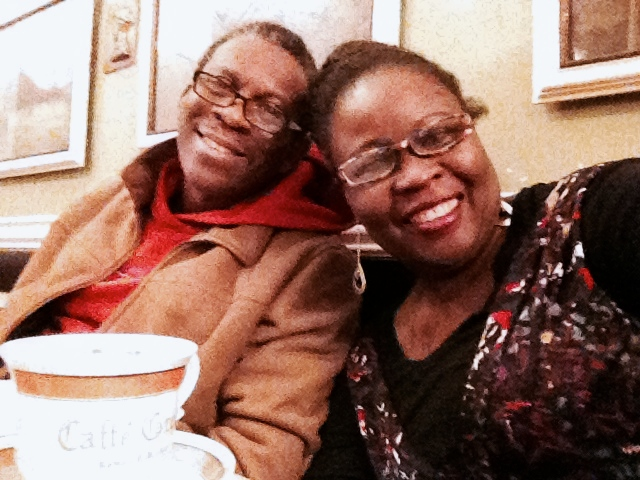 Yemi and Lola in Rome