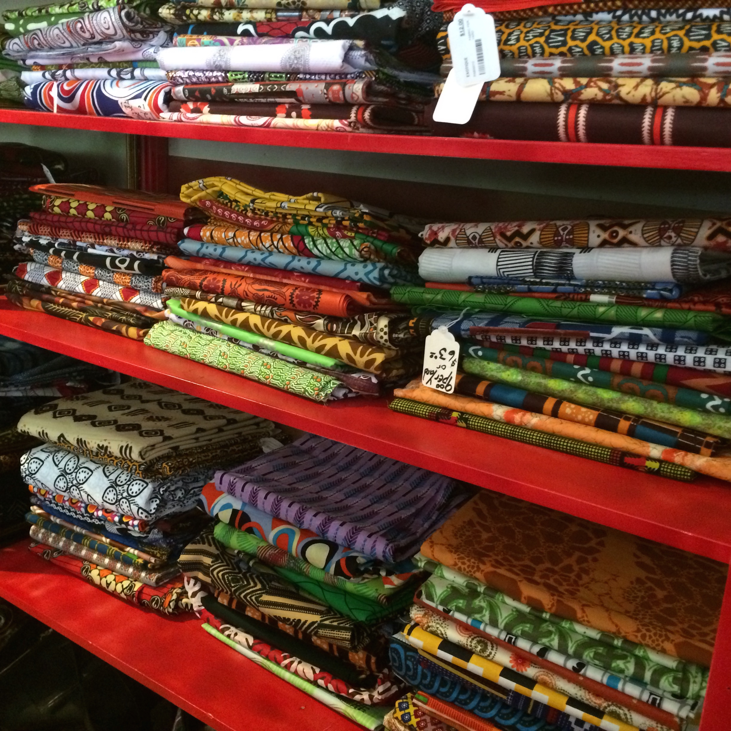 Colorful Fabric (many countries)