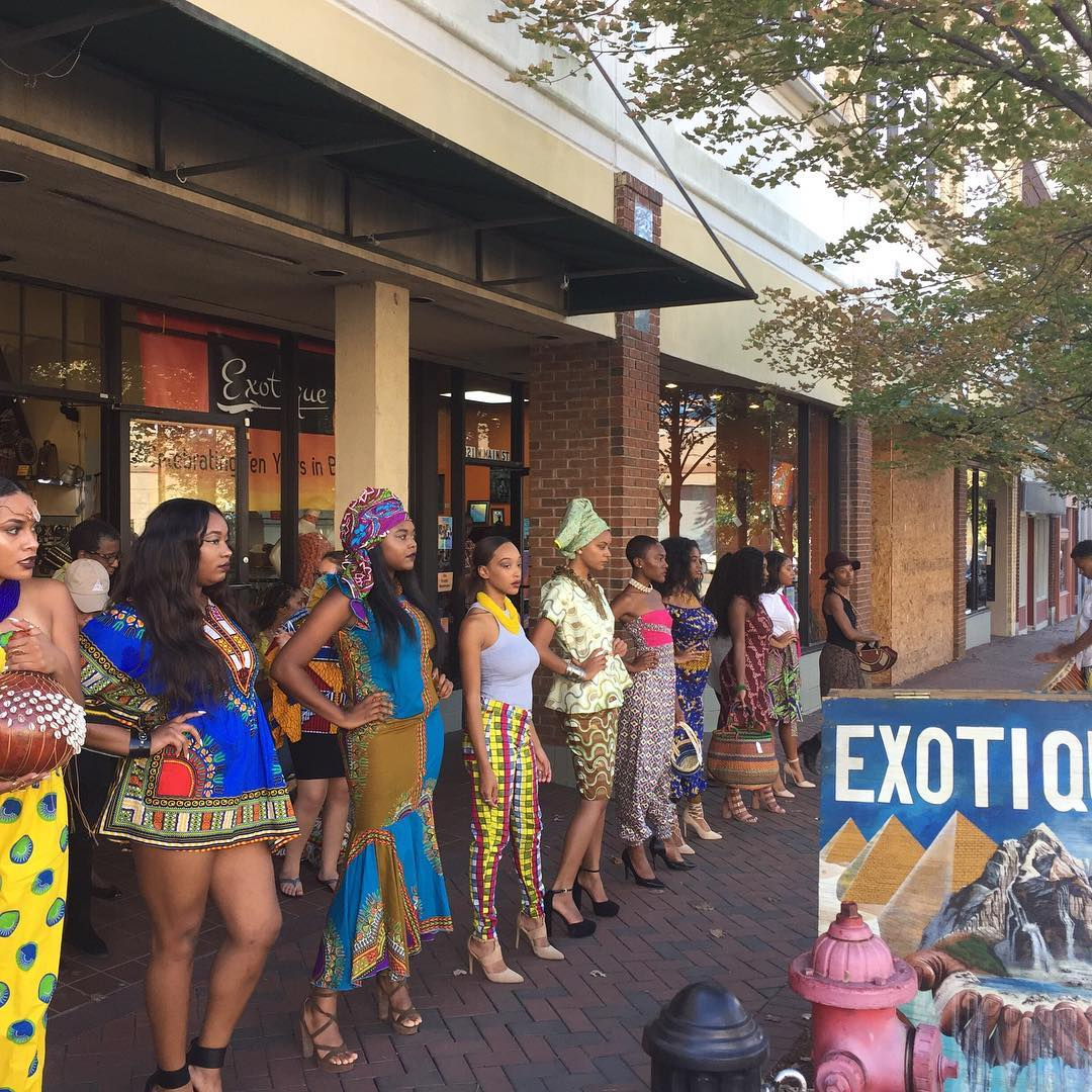 Fashion show at Exotique