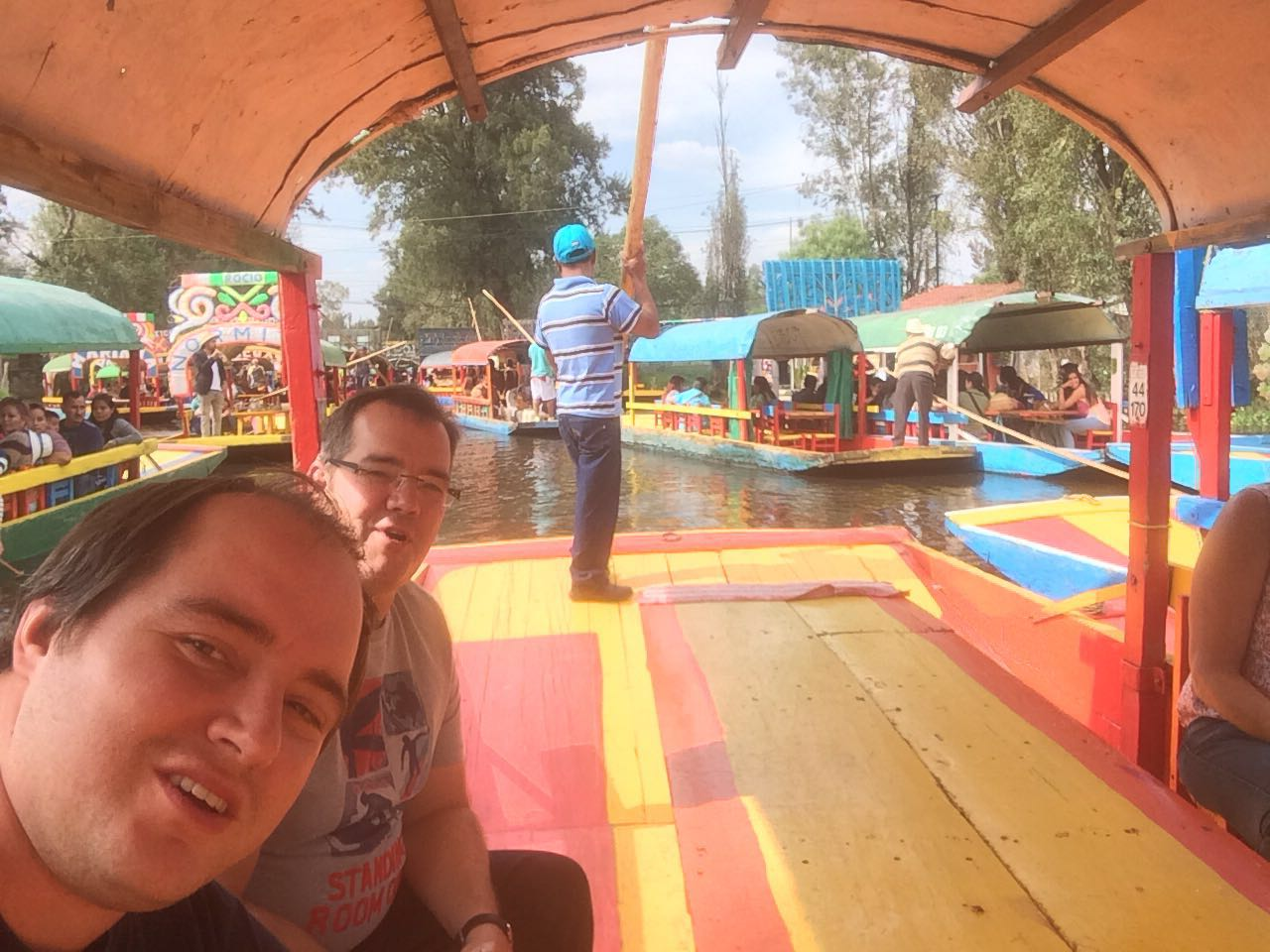 Mid chat but you get the idea. Xochimilco