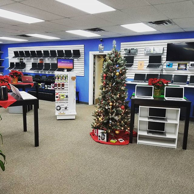 We are getting into the holiday spirit here at Affordable Computers! Come check out our holiday deals! #holiday #laptops #affordablecomputers