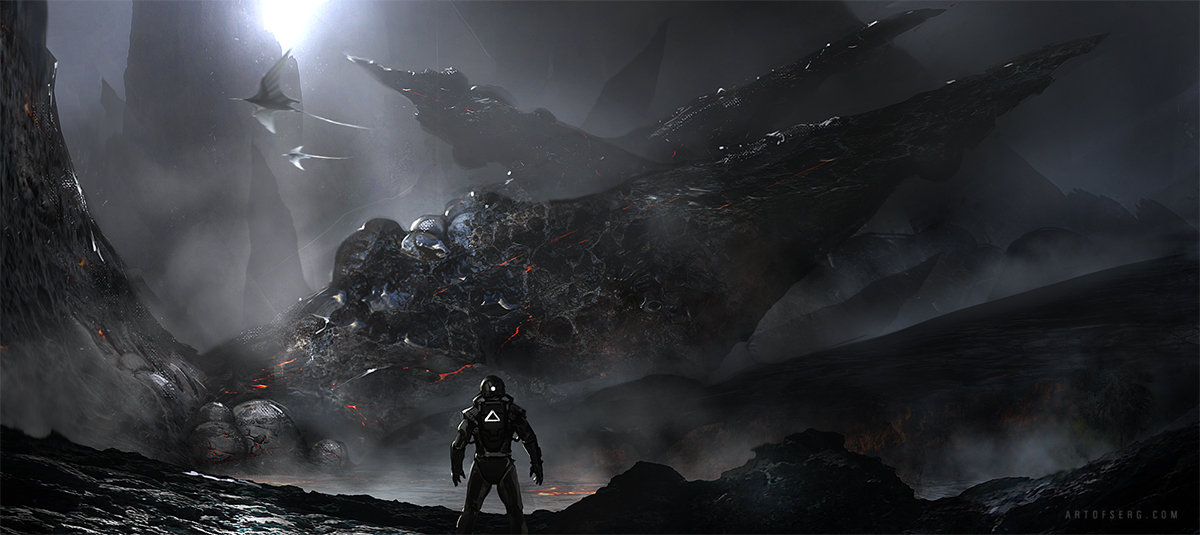 Dangerous alien world design
