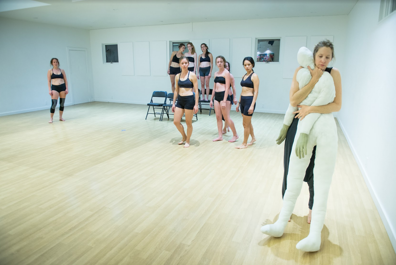 HEaRD performance (Alya Howe commission),Photo by Renee Ramge