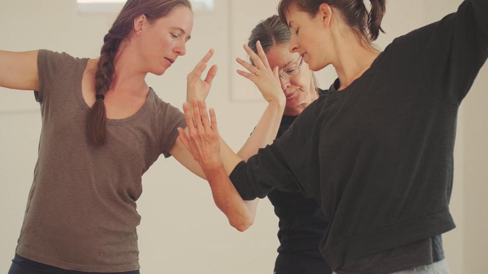Molissa Fenley residency, Video still from Muse Motion