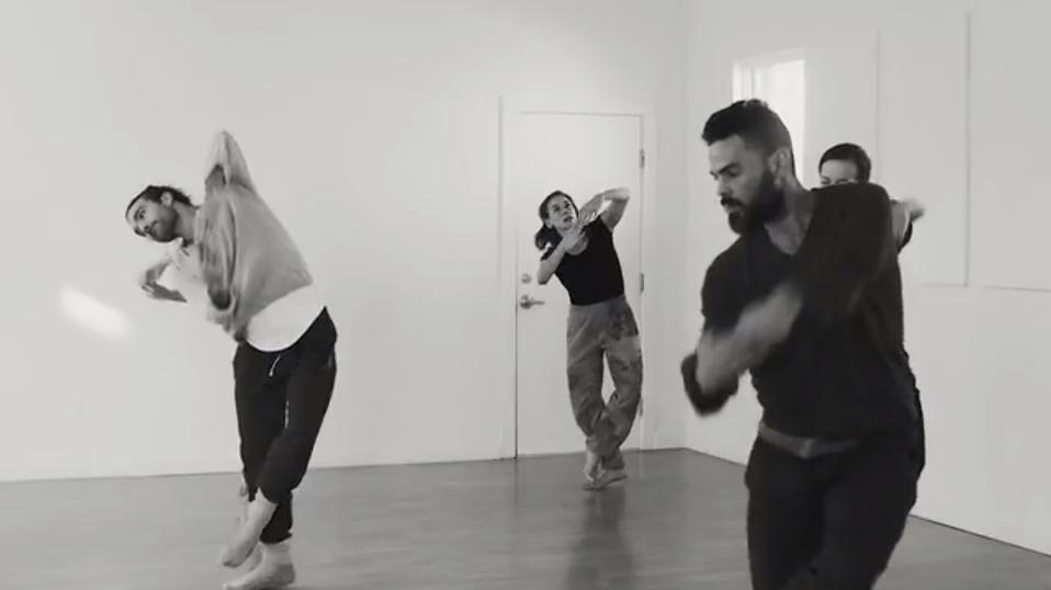 Rashaun Mitchell + Silas Riener residency, Video still from Muse MotionVideo still from Muse Motion