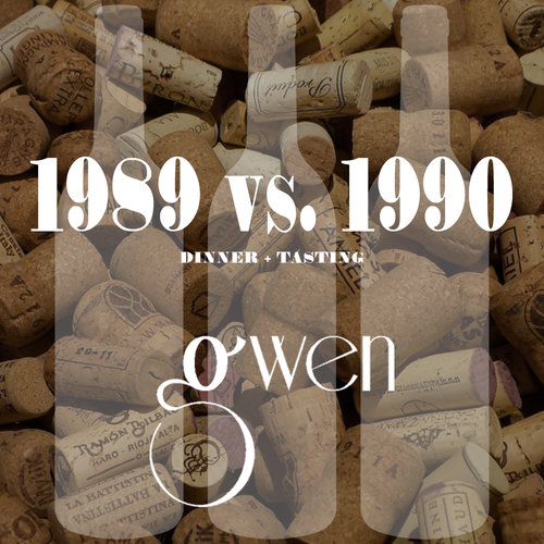 The 1989 vs. 1990 D inner  Gwen Los Angeles March 22, 2018