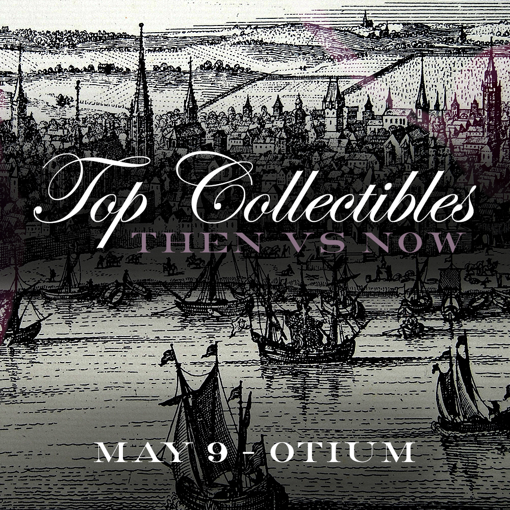"Top Collectibles - ""Then vs. Now"" Dinner  Otium Los Angeles May 9, 2018"