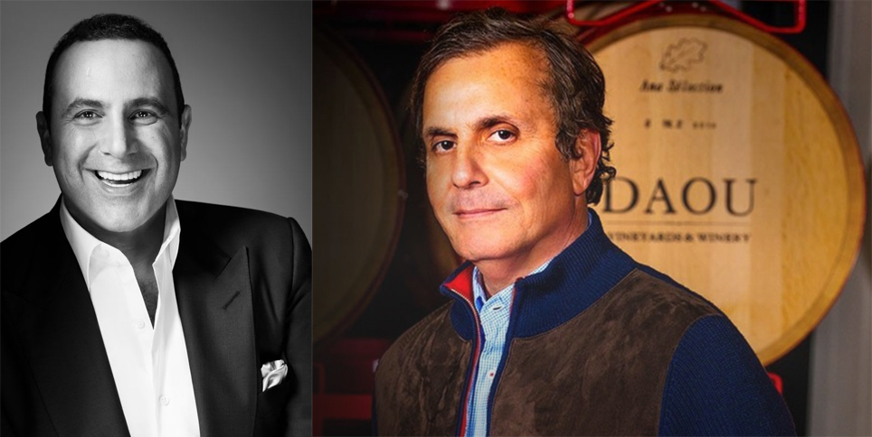 Meet and mingle with SBE Founder & CEO Sam Nazarian and Owner of DAOU Vineyards & Winery, Georges J. Daou!