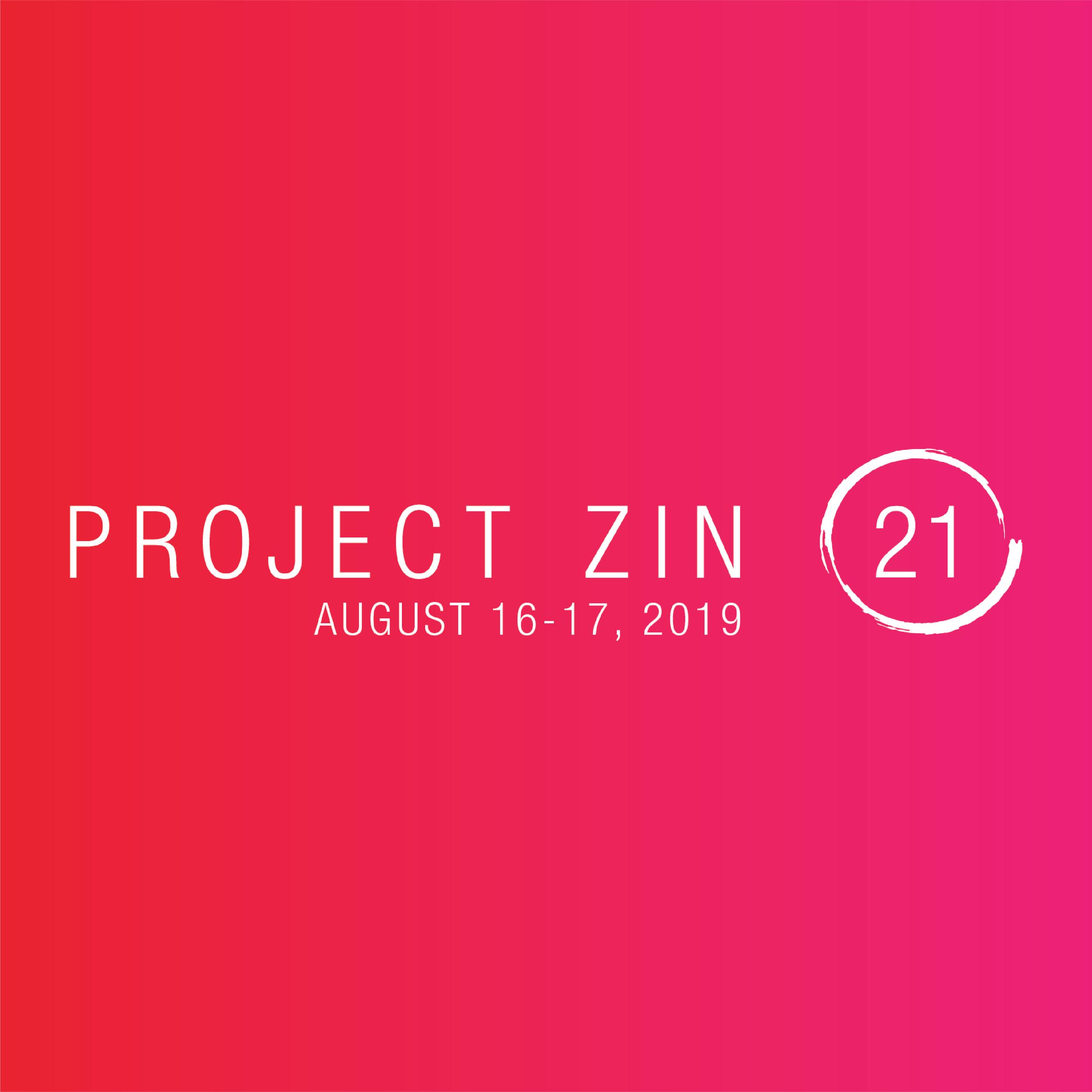 Project Zin Hotel Healdsburg August 17, 2019 6:30 PM - 9:30 PM