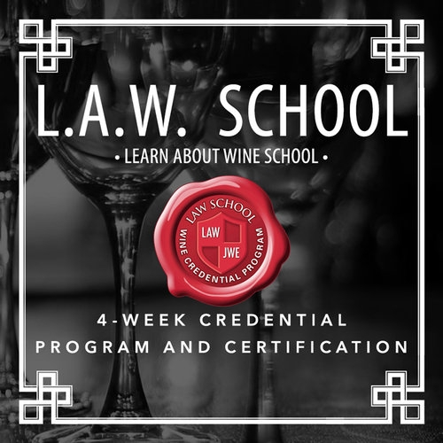 L.A.W. (LearnAboutWine) School Downtown Los Angeles October 20, 2019  11:00 AM - 2:00 PM
