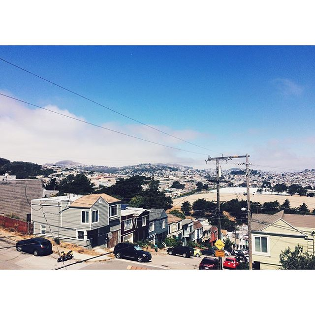 San Francisco, you're so cold to me but I can't resist your charm #sf