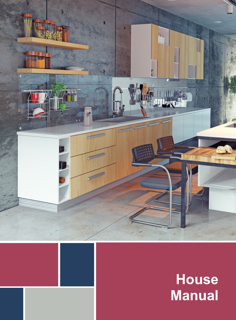 Customize your House Manual to your listing.