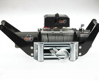 HITCH MOUNTED WINCH CRADLE