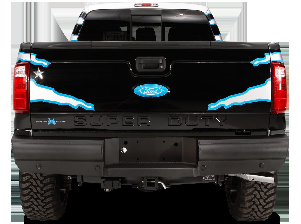 Black Steel Elite Rear Bumper