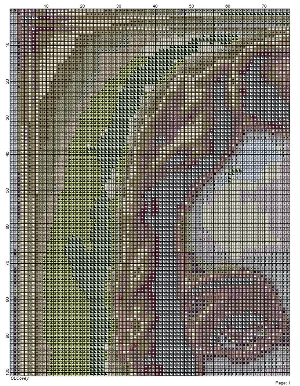 Symbol color chart / Esquema de colores con símbolos