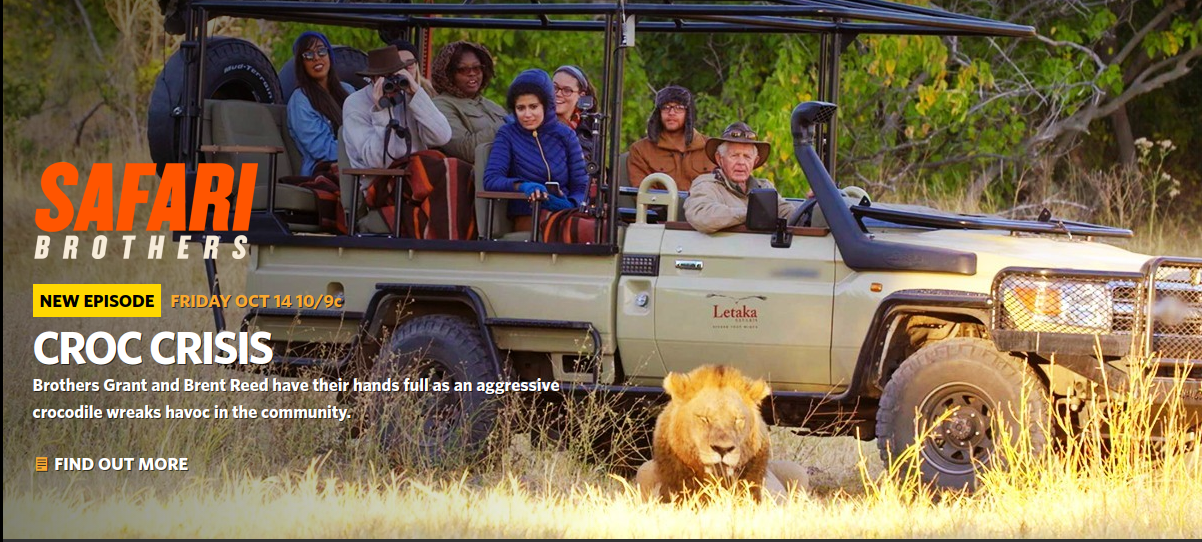 Check out a clip from the latest Safari Brothers episode.