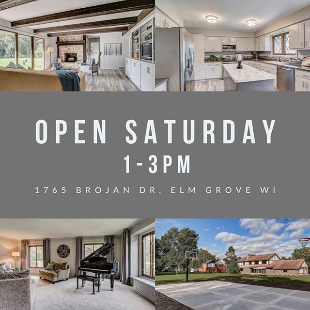 Looking for a home in Elm Grove WI. stop by my new listing this Saturday 9/21 1-3pm to check out this updated 5 BR 2.5BA W/ 3 Car GA. On 1+ac lot w/new Full BBall court. MLS# 1658968 www.davideyriseteam.com #elmgrove #luxuryhomes #familysize #hoopsdreams