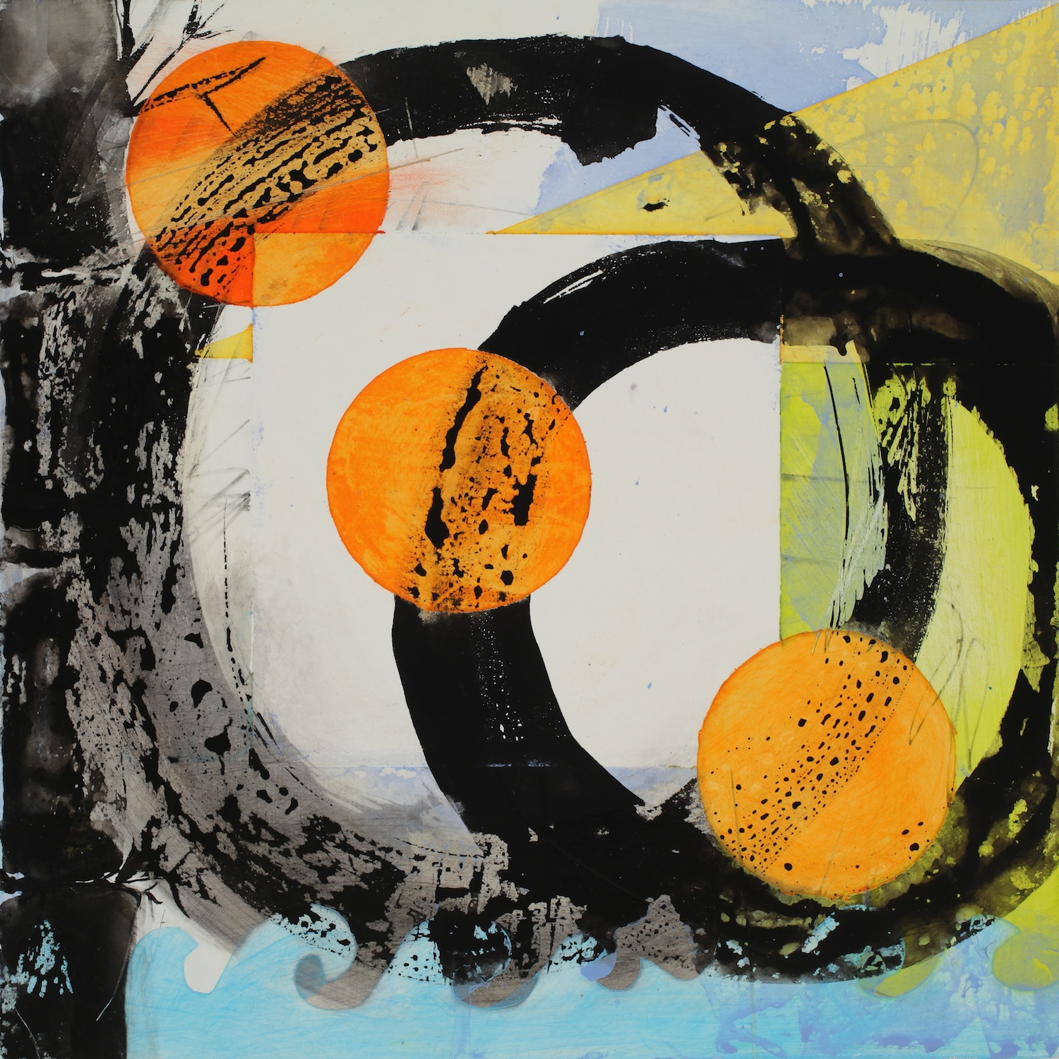 Orange Ball Enso    SOLD