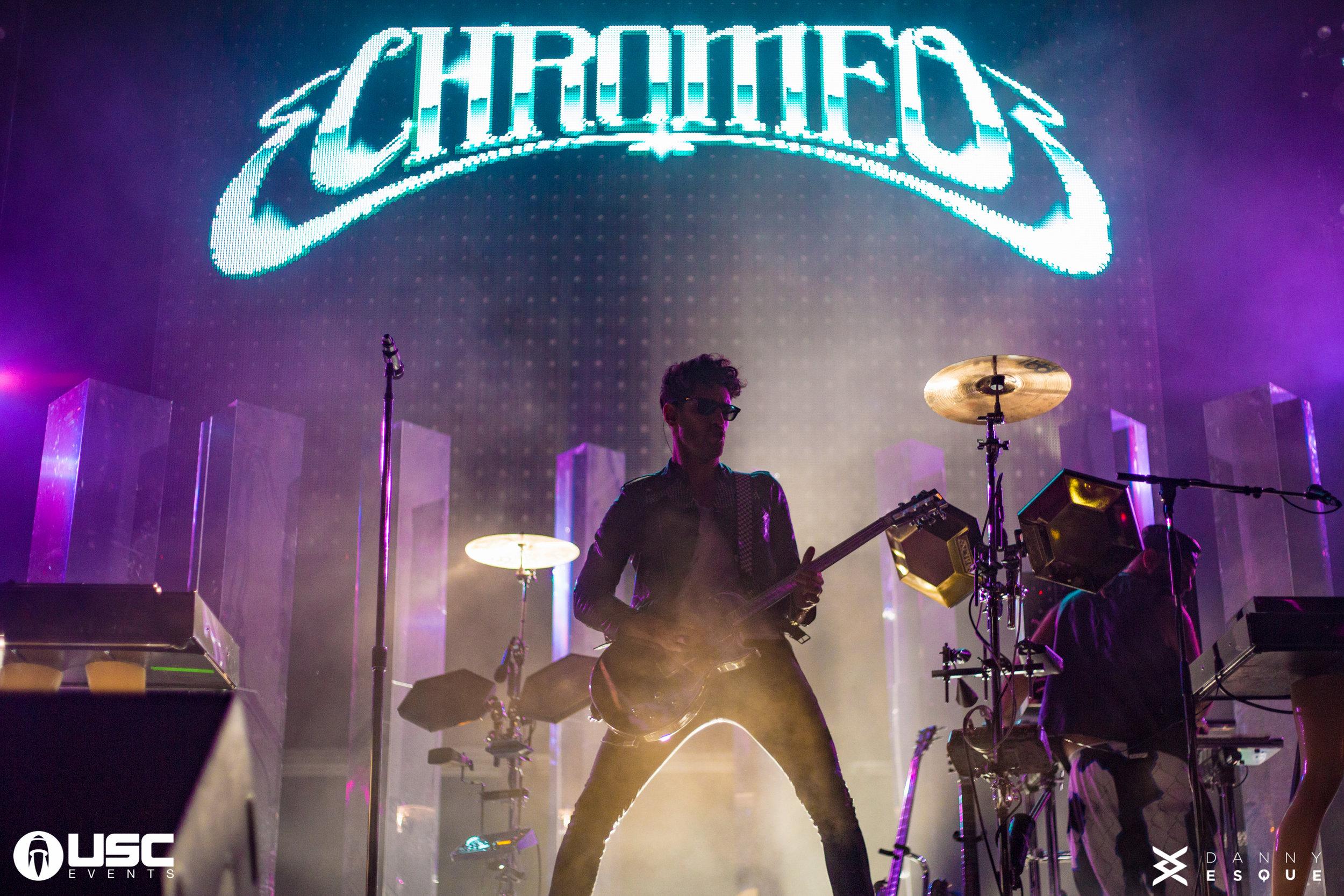 CHROMEO - THE GORGE AMPETHEATER - SEATTLE, WA