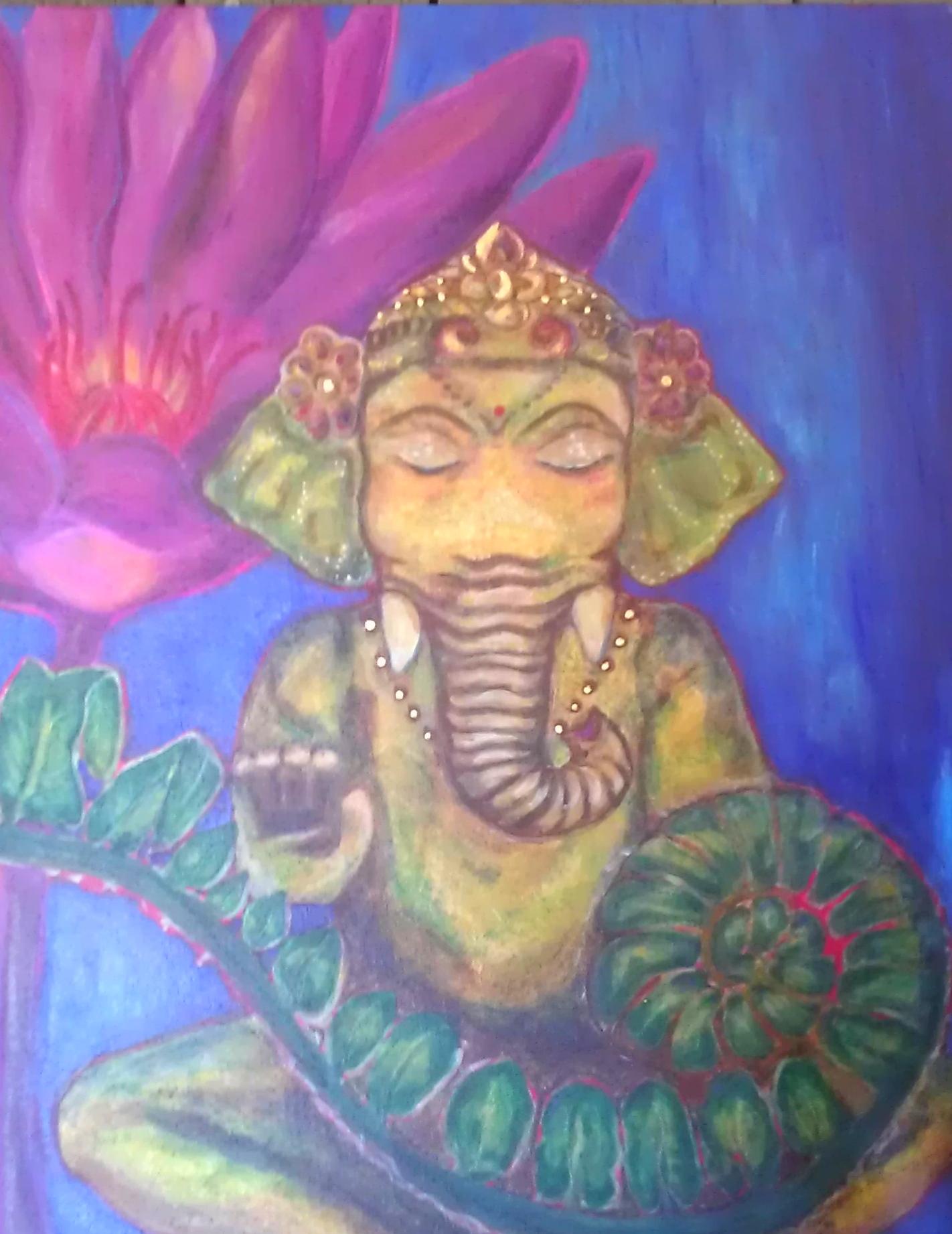Ganesha in the Garden