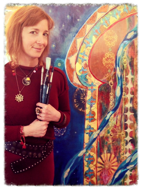 Painting a new paradigm into being...