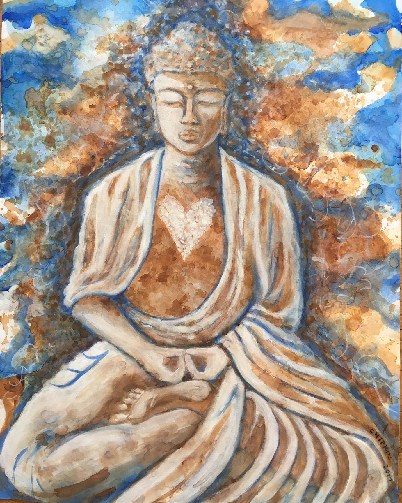 Tea Leaf Buddha II