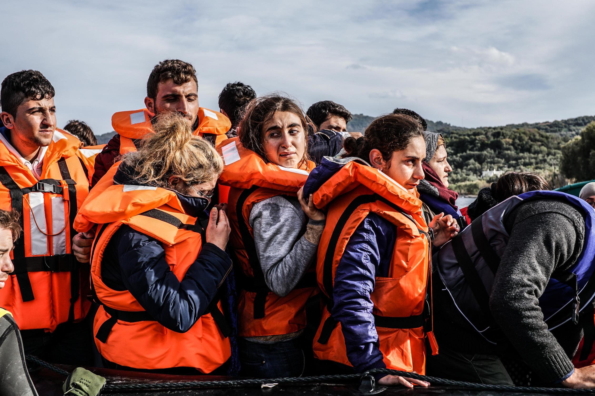 Syrian Refugee Crisis Lesbos Greece November 2015 16.jpg