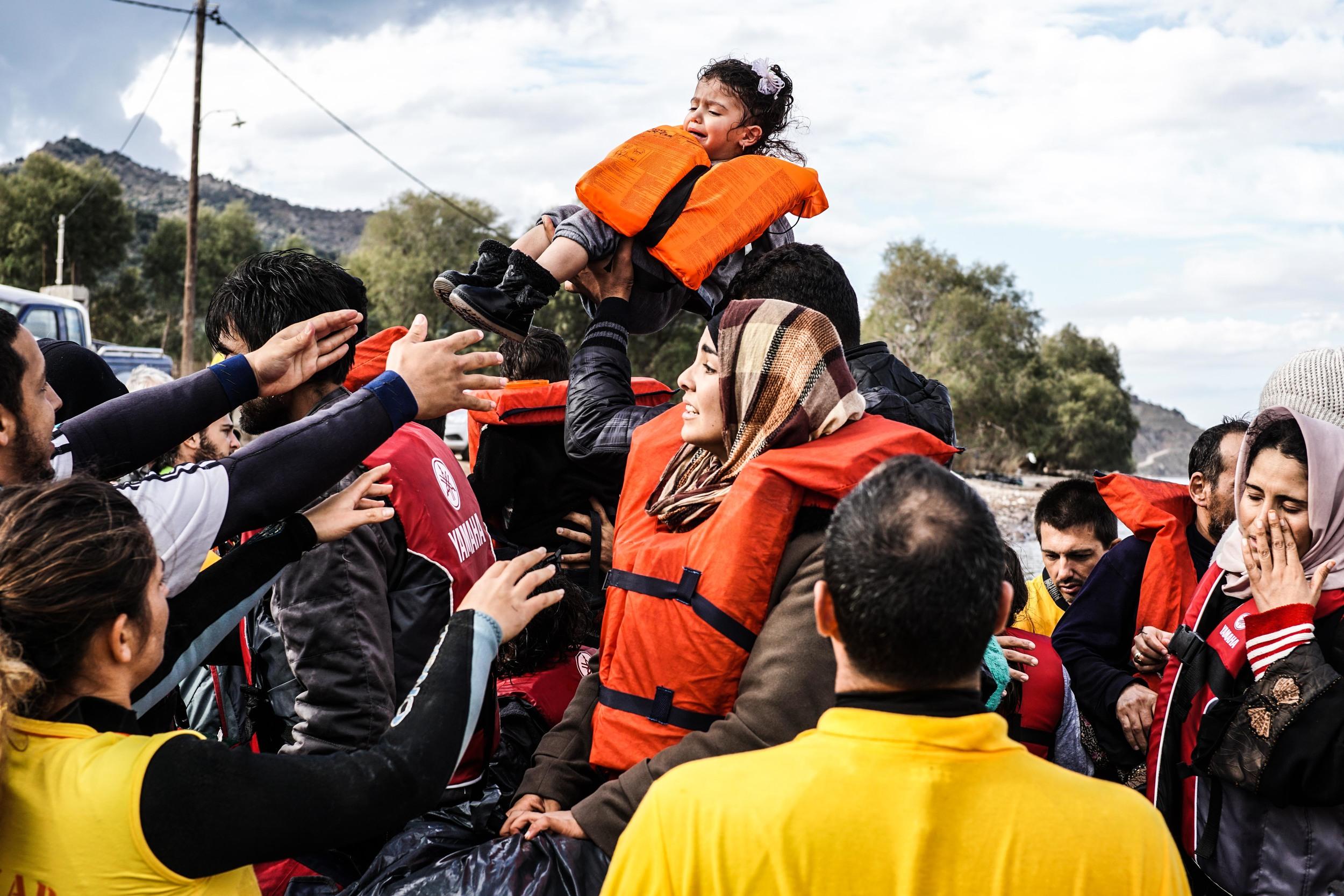 Syrian Refugee Crisis Lesbos Greece November 2015 13.jpg