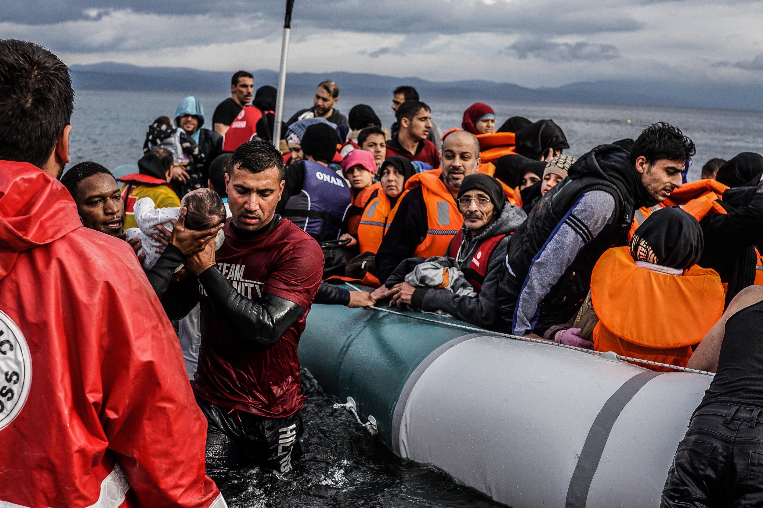Syrian Refugee Crisis Lesbos Greece November 2015 11.jpg
