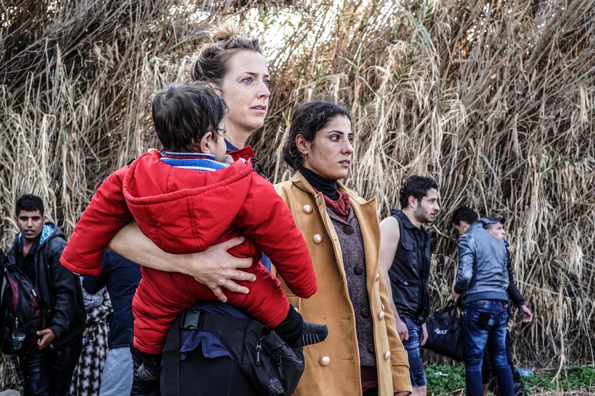 Syrian Refugee Crisis Lesbos Greece November 2015.jpg