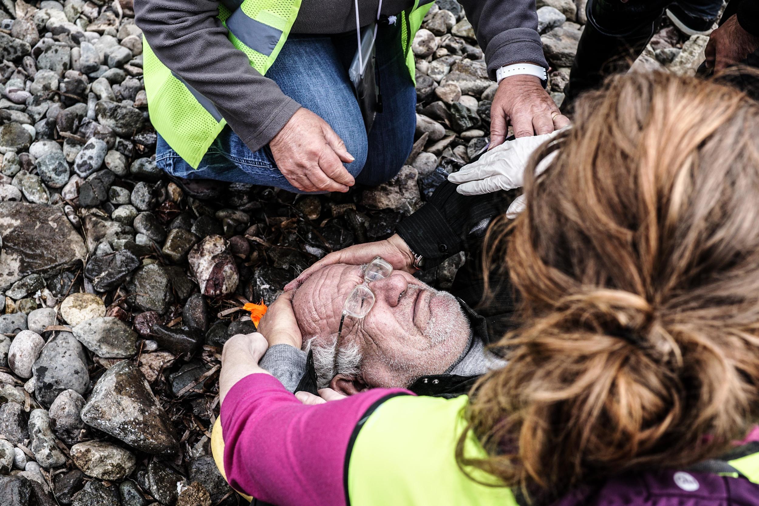 Syrian Refugee Crisis Lesbos Greece November 2015 10.jpg