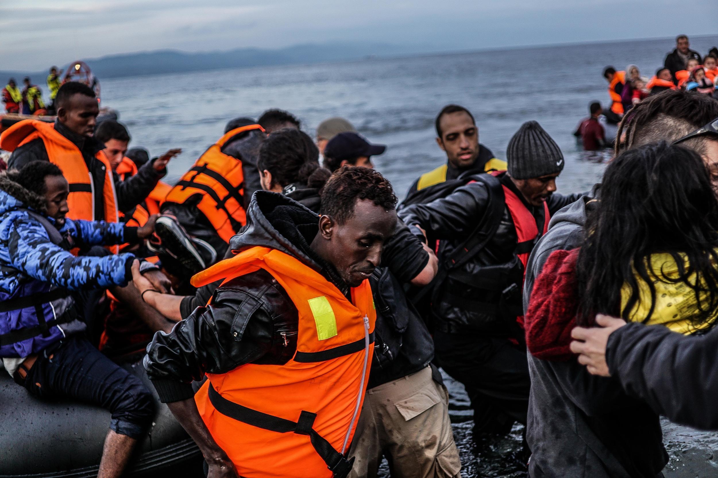 Syrian Refugee Crisis Lesbos Greece November 2015 9.jpg