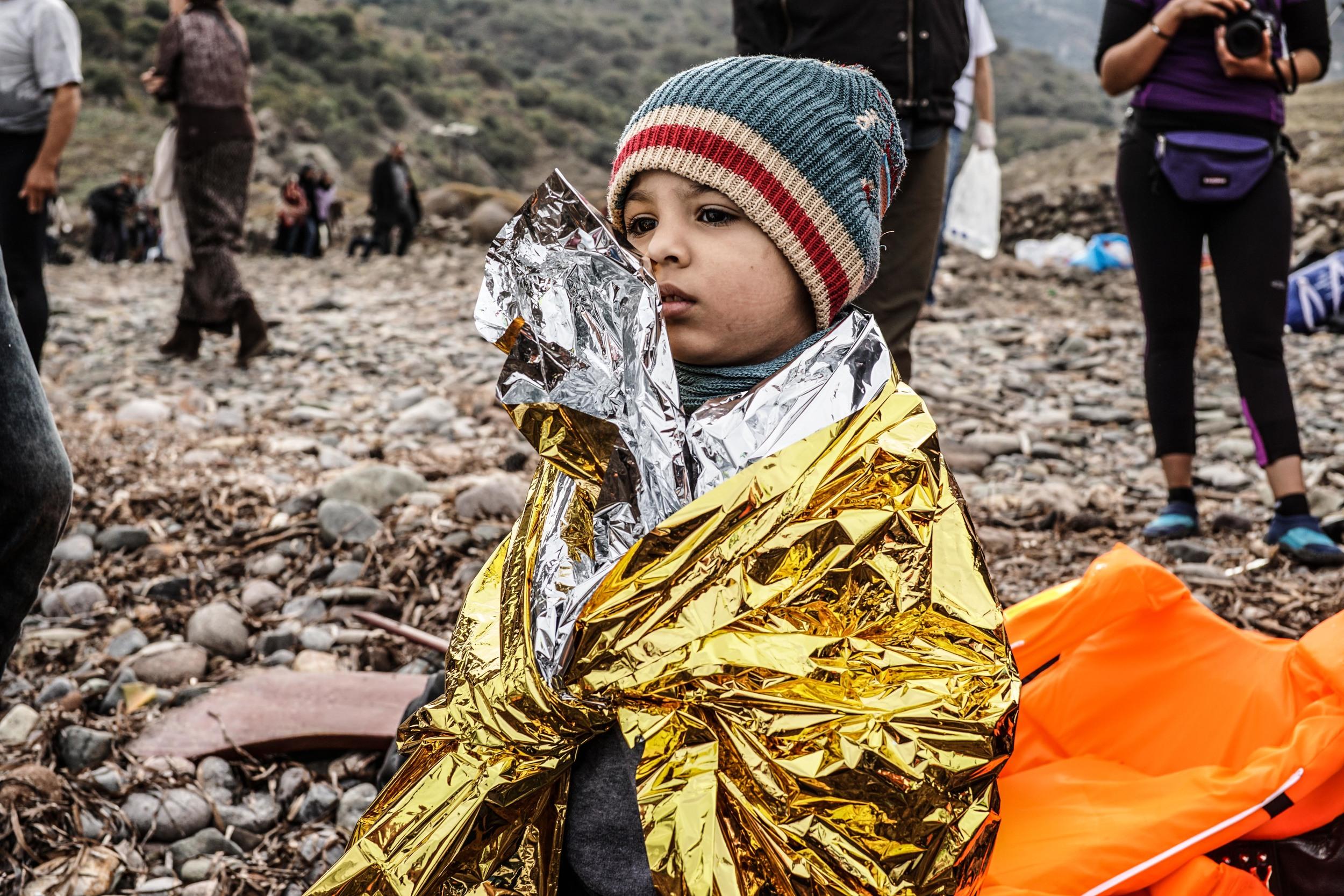 Syrian Refugee Crisis Lesbos Greece November 2015 3.jpg