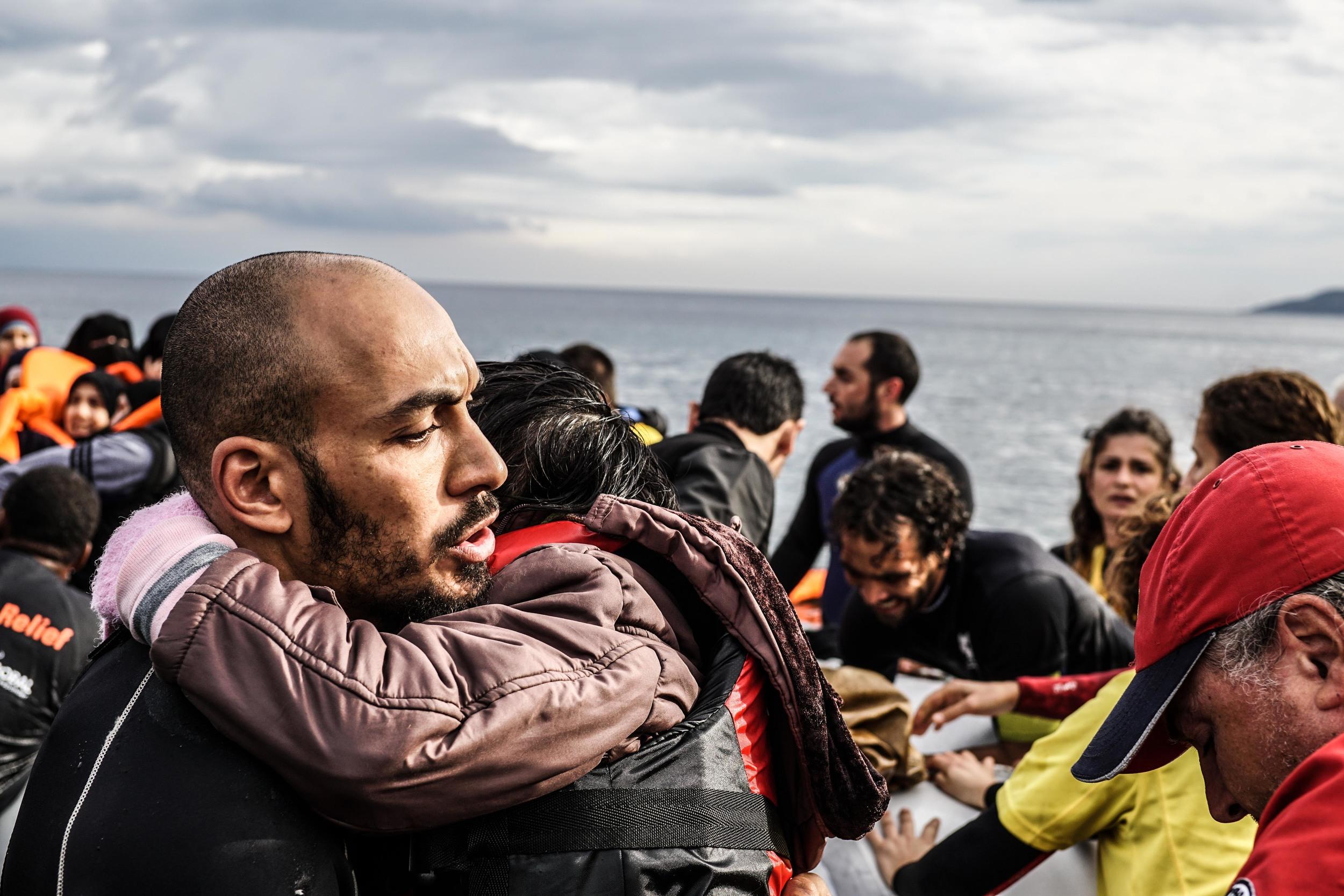 Syrian Refugee Crisis Lesbos Greece November 2015 31.jpg
