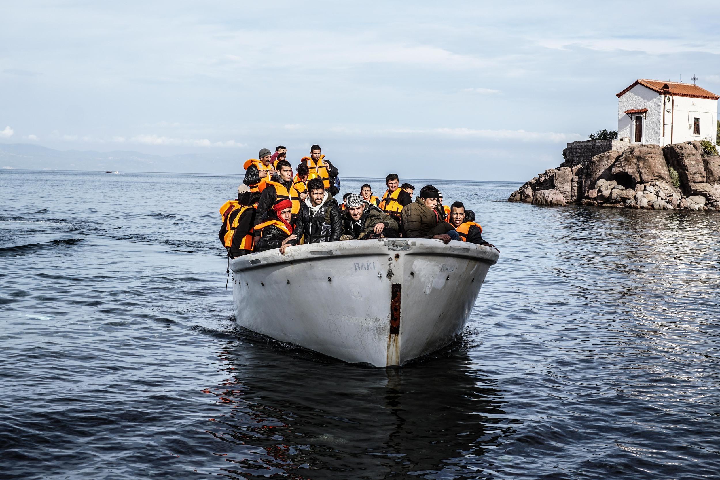 Syrian Refugee Crisis Lesbos Greece November 2015 30.jpg
