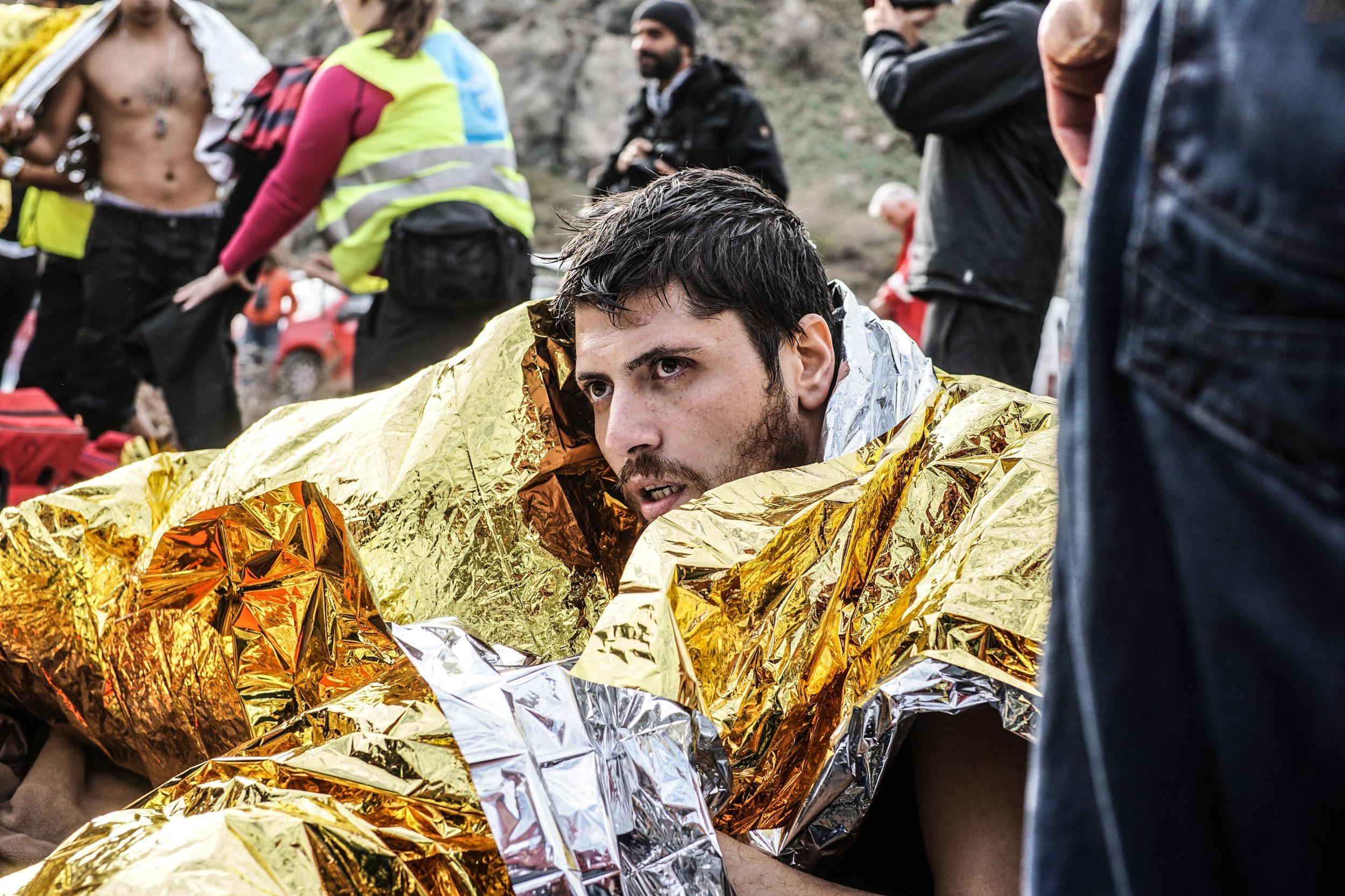 Syrian Refugee Crisis Lesbos Greece November 2015 29.jpg