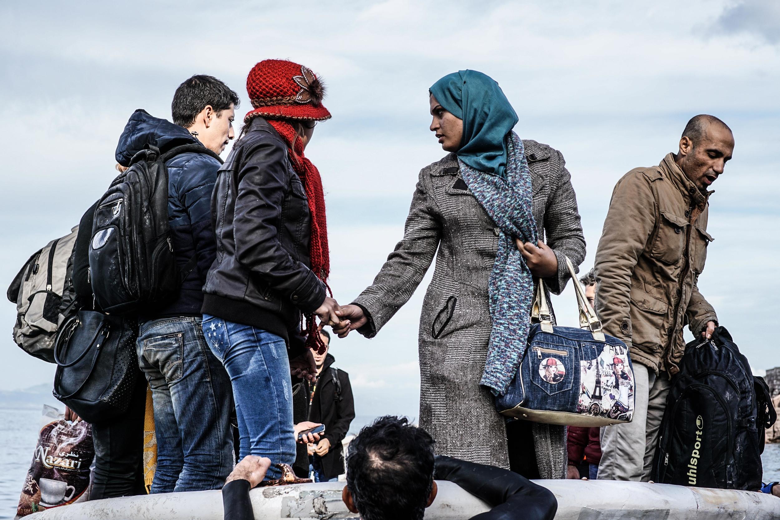 Syrian Refugee Crisis Lesbos Greece November 2015 28.jpg