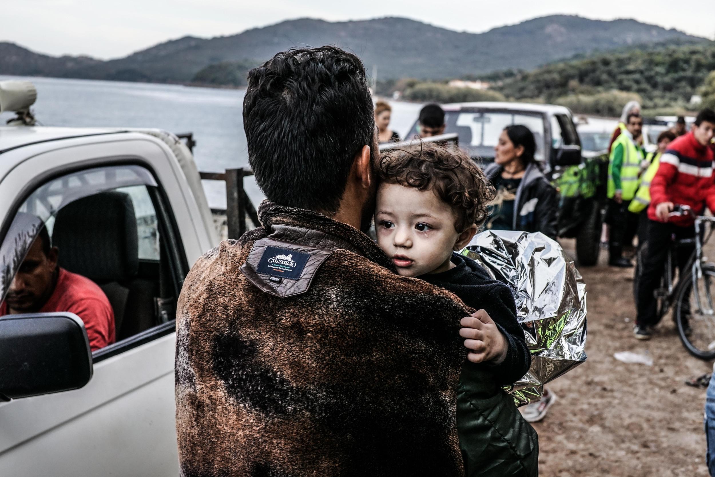 Syrian Refugee Crisis Lesbos Greece November 2015 26.jpg