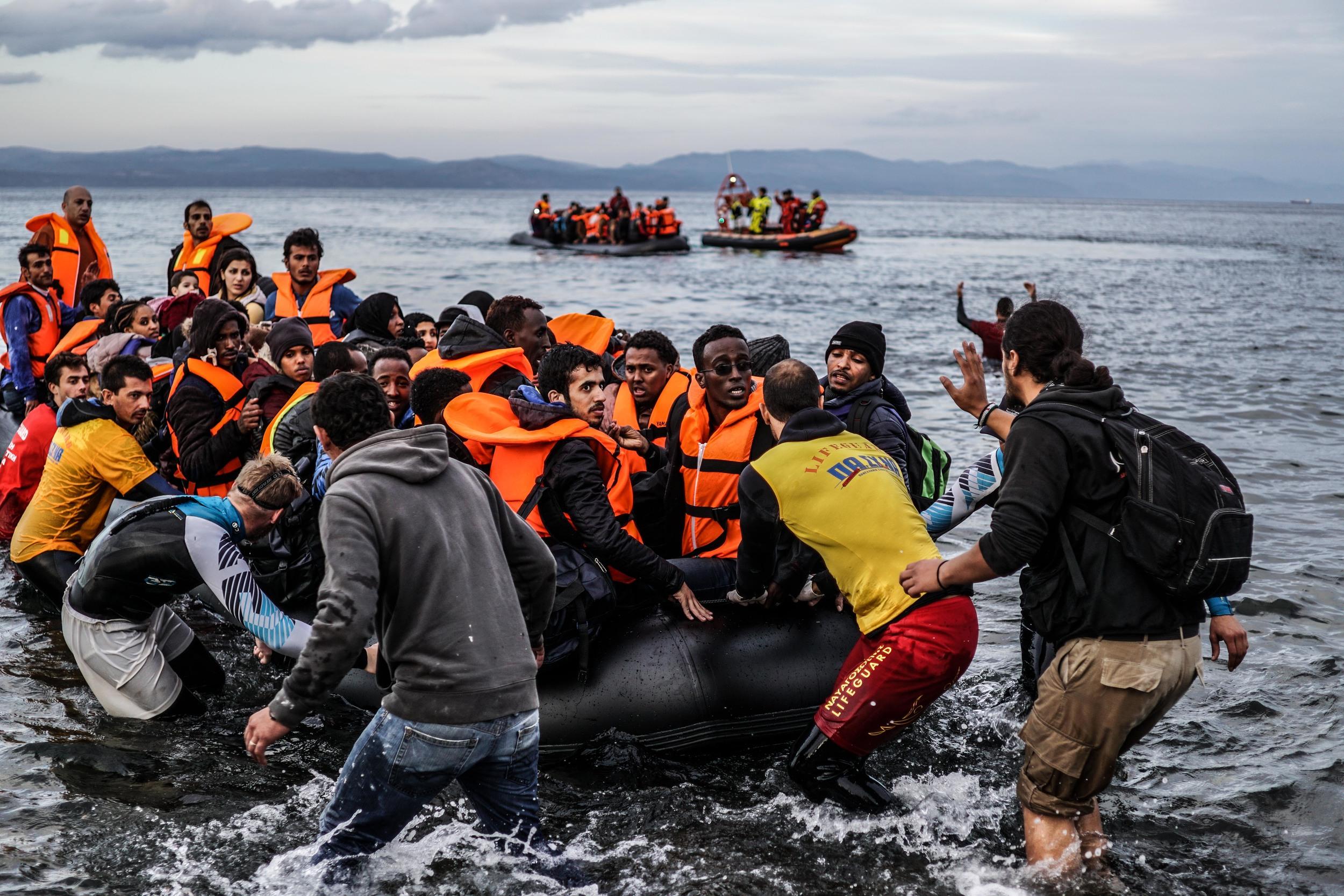 Syrian Refugee Crisis Lesbos Greece November 2015 23.jpg