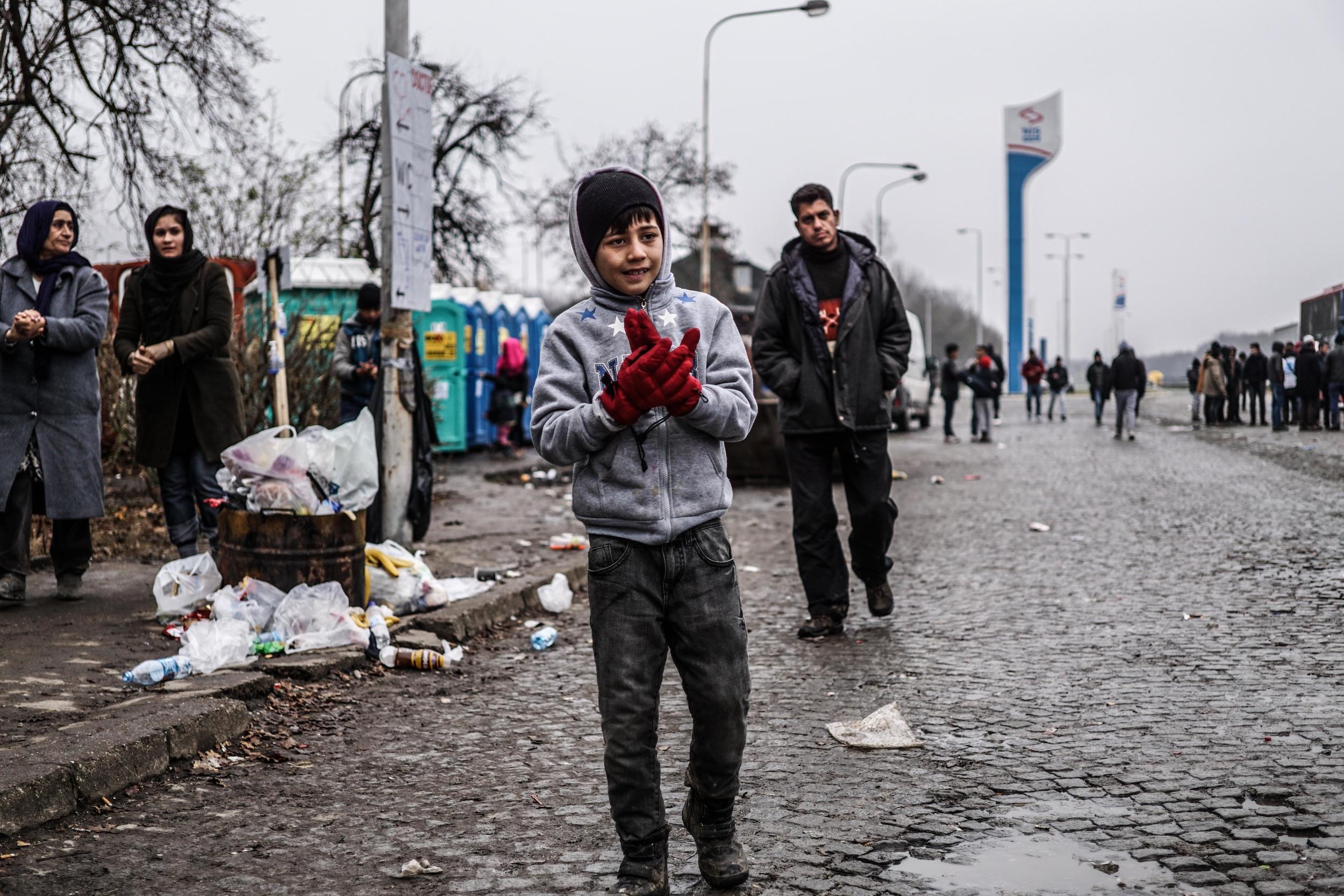 Syrian Refugee Crisis Serbia November 2015 7.jpg