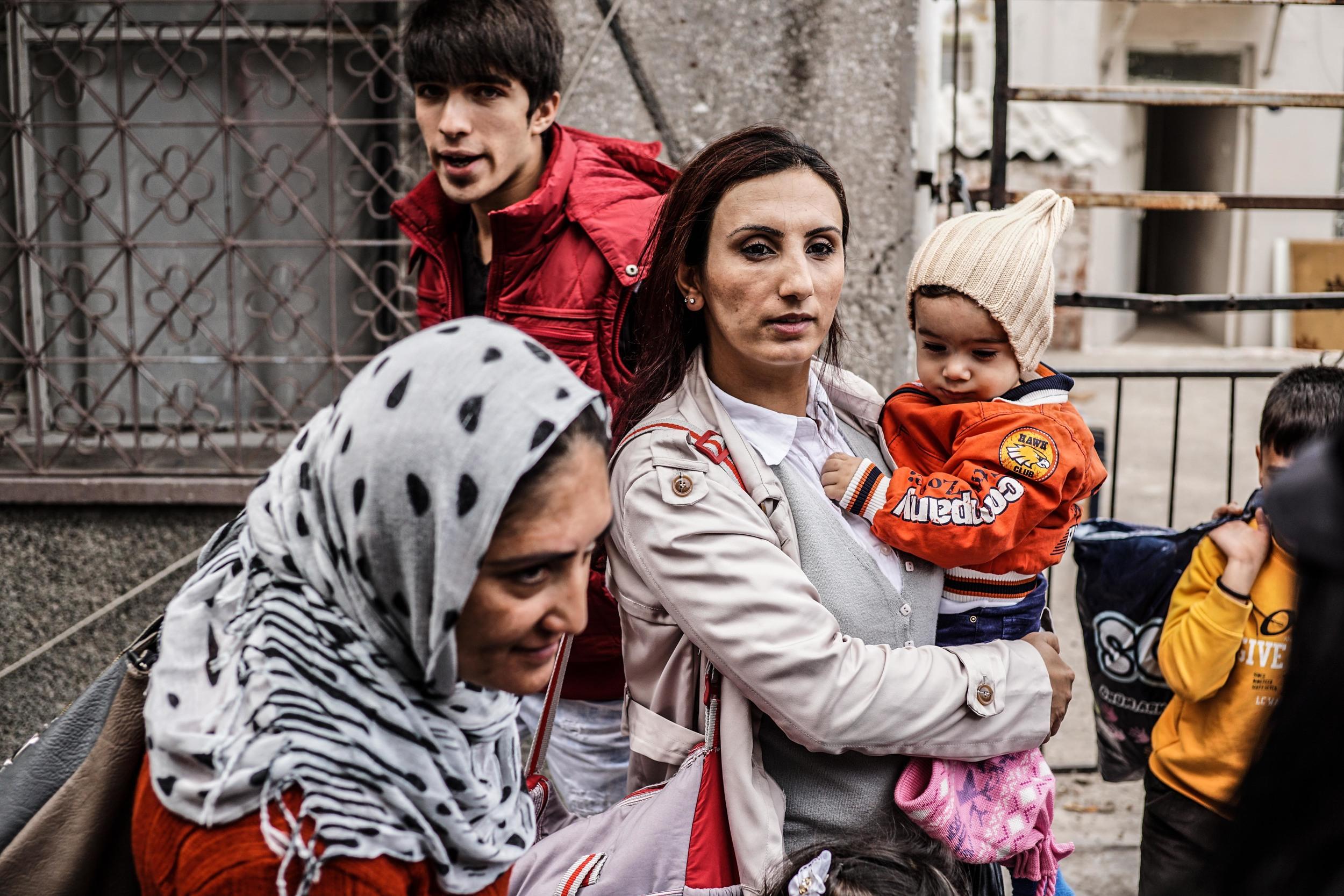 Syrian Refugee Crisis Izmir November 2015 6.jpg