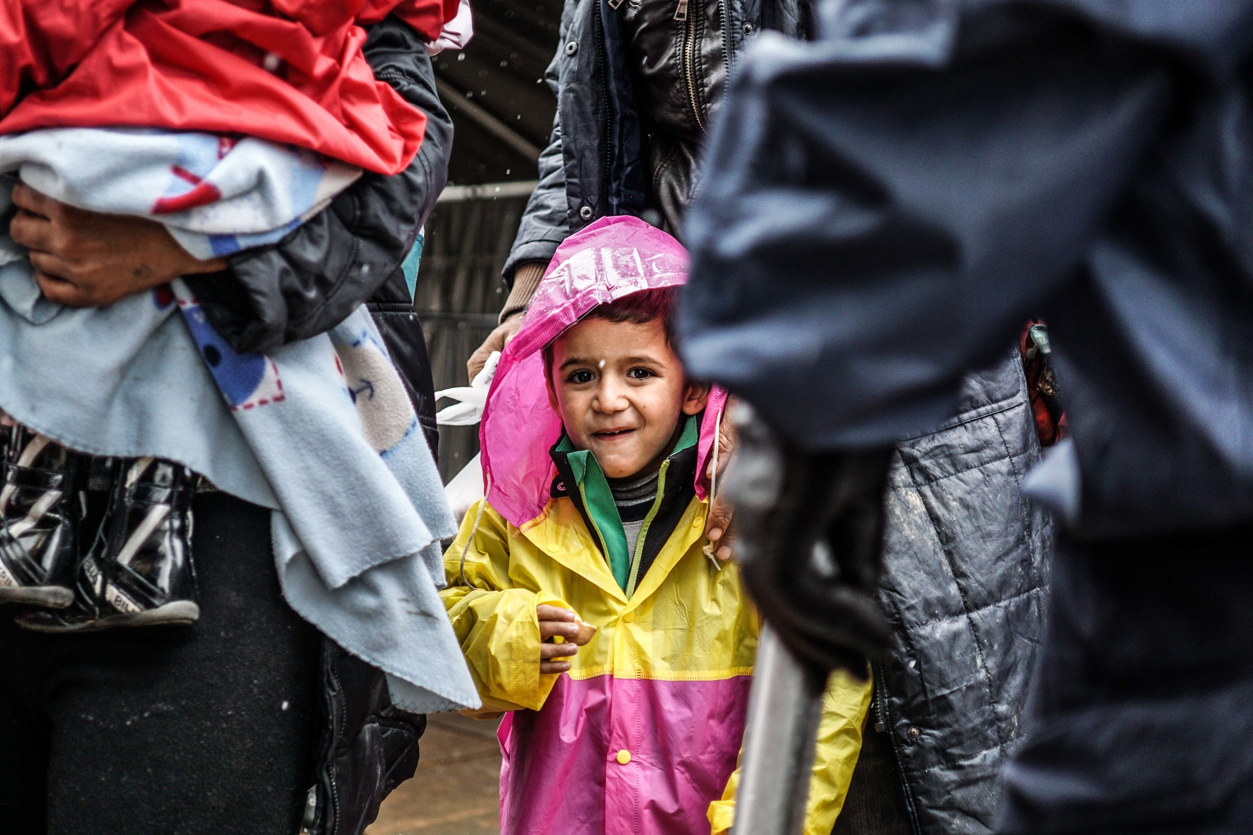 Syrian Refugee Crisis Croatia Slavonski Brod Winter Refugee Camp November 2015 18.jpg