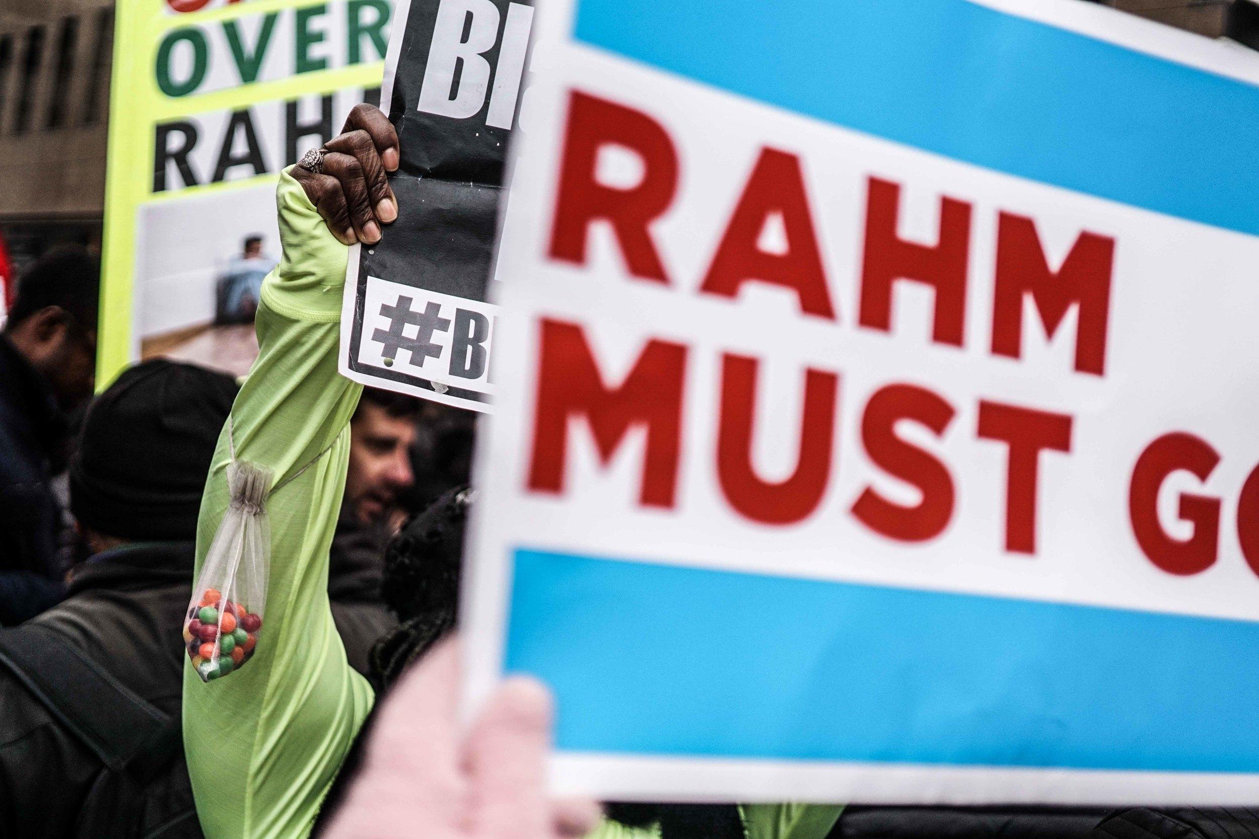 Laquan Mcdonald Protest Resign Rahm Christmas Eve December 2015 Harrison Bruhn 31.jpg