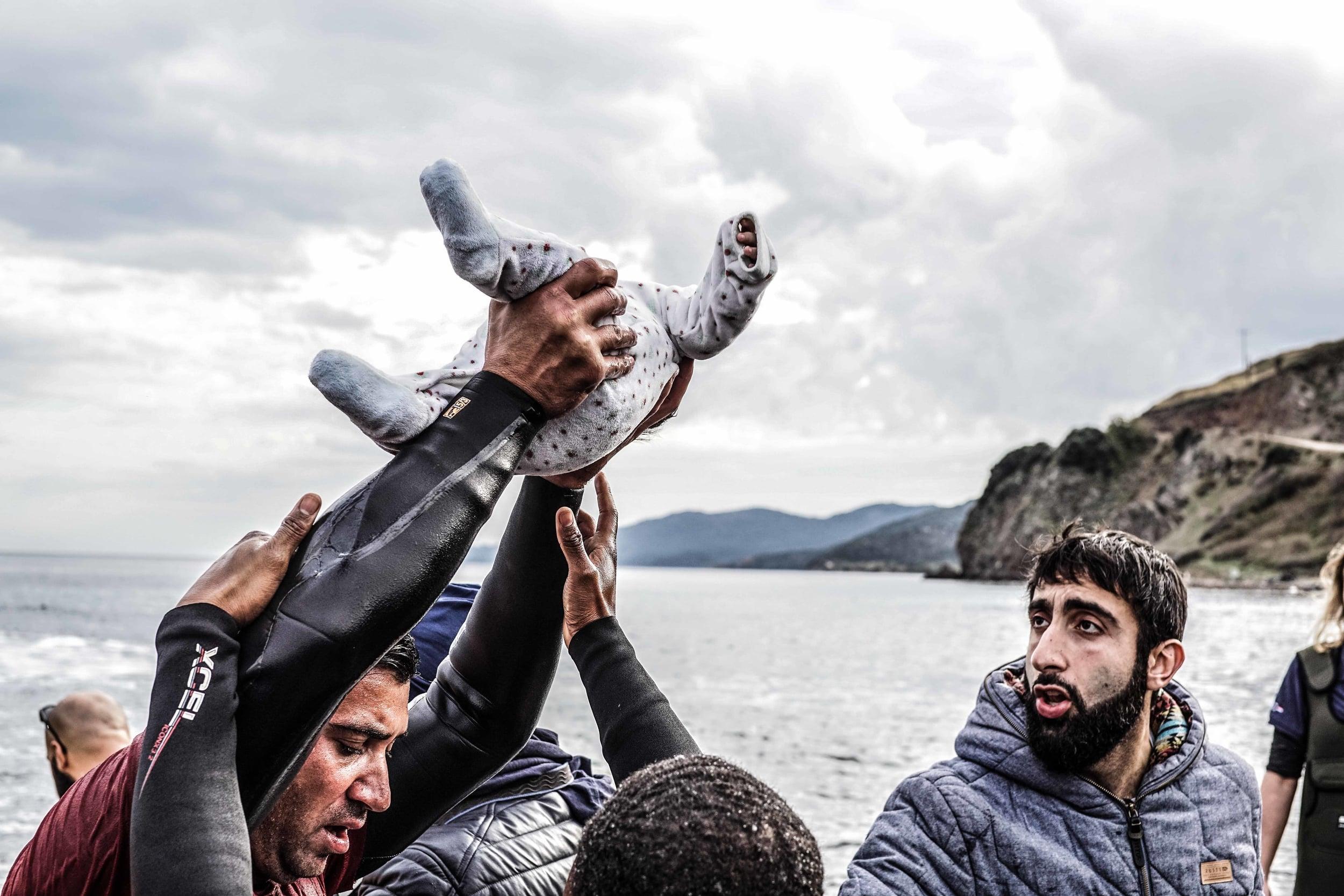 Harrison Bruhn Refugee Crisis Migrant November 2015 Lesvos Greece 2.jpg